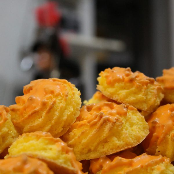 Scatola di dolci all'Arancia
